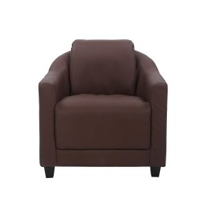 Genuine Leather Brown Aviator Tub Chair