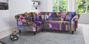 Fabric Patchwork 1c2 Seater Avici Shout Sofa