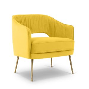 Velvet Gold Mirabella Occasional Chair